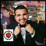 "Sal ""The Voice"" Valentinetti of Americas Got Talent on homegrownradionj 5-8-17"