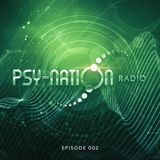 Psy-Nation Radio #002 - Ace Ventura & Liquid Soul + Ticon Mix