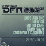 Frank Savio @ GTU Radio pres. Driving Forces Label Showcase (24-09-16)