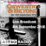 Astro Radio - Oswestry Heritage Days LIVE 8th September 2018