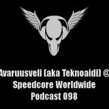 Avaruusveli @ Speedcore Worldwide Podcast 098