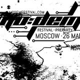 Monomimic and 7EVEN (b2b Techno SET) @ Modem preparty in Moscow 26.03.2016