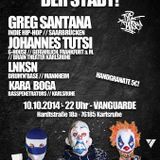 "DJ-Set by Johannes Tutsi @ ""Die Tighteste Party Der Stadt"", Vanguarde (Karlsruhe)"