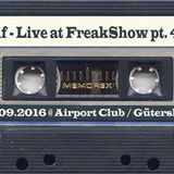Alf - Live at FreakShow pt. 46 (17.09.2016 @ Airport Club / Gütersloh)