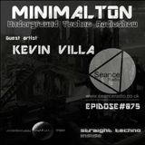 Kevin Villa @ Episode #075 Minimalton RadioShow At Seance Radio [UK]