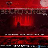 Beyond Sunrise radio...Cxlii featuring Dream Master Solo