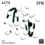 Acte w/ Simon 24/03/2017