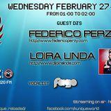 Kunique Badj Radio M20 Wednesday February 27 On Air Federico Perzy & Loira Linda Voice M.C.Fago