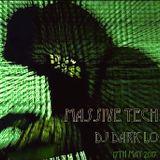 """DJ Dark Lo recording """"Massive Tech"""" 17th May 2017"""