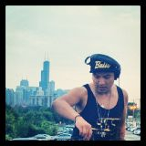 Eddy Yorch @ estate rooftop Chicago_Aug 10th 2014