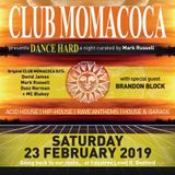 David James live at Club Momacoca - Dance Hard 23rd Feb 2019