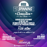 "Ride  ""The SPINNING® Connection""   3ra Edición"