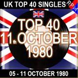 UK TOP 40 : 05 - 11 OCTOBER 1980