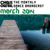 Chris Ortek-The Monthly Dance Broadcast March 2014