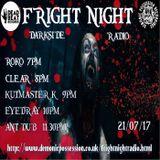 FRIGHT NIGHT RADIO...ROKO LIVE 22/7/17...(Tracklist & D/L )