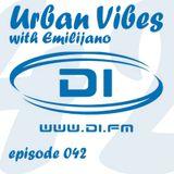 Emilijano - Urban Vibes 042 [DI.FM] - January 2015