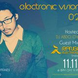 ELECTRONIC VISIONS 025 Special Guest Mix RANGGA ELECTROSCOPE (Indonesia) 11.11.11 Tribal Mixes Radio