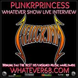 PunkrPrincess Whatever Show live with Hellgrimm recorded live 4/16/20 only on whatever68.com