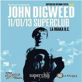 John Digweed - live at La Huaka Club in Lima, PER (2013.01.11.)