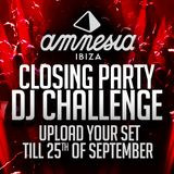 Amnesia DJ Competition BAD&BLACK