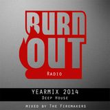 The BurnOut Radio YearMix 2014: Deep House (Full Continuous Mix)
