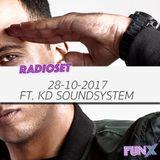 Moradzo in the Mix: 28 oktober 2017 ft. KD Soundsystem