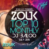 July 2014, Brazilian Zouk Top 10, DJ Baloo