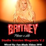 Britney Spears: Piece Of Me 2.0 Full Show 2016 (Studio Version Megamix) V.2