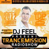 DJ Feel - TranceMission (Top 25 Of January 2012)
