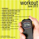 Cardio Workout Mix 128 bpm - June 2013
