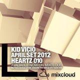 """KID VICIO - ABRIL SET 2012 """"HEARTZ 010"""""""