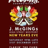 Mr Whippy LIVE at J.McGINGs Westport NYE 2011-2012