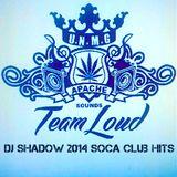 Dj Shadow 2014 Soca Club Hits