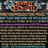 The Nightflight Radio Show from May 2nd 2014 with DJ McScotty aka Steve Perz