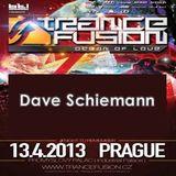13.04.2013 - Dave Schiemann @ Trancefusion Ocean of Love - Industrial Palace Prague (CZ)