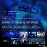 Chris Liebing - Live @ Time Warp 20 Years Anniversary Maimarkthalle Mannheim (Germany) 2014.04.05.