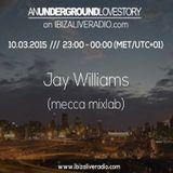An Underground Love Story on  IbizaLiveRadio.com w/ Jay Williams