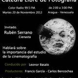 Cátedra Libre de Fotografía - Programa del 20-11-2012