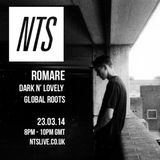 Dark n' Lovely Global Roots w/ Romare - 23rd March 2014