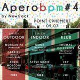 CEY @ AperoBPM #4 by Newtrack, Point Éphémère, Paris, 090713