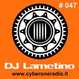 CyberOneRadio Trance Session - DJ Lametino - episode # 047