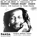 Panda Basel - The Spotlight - 60min Gregory Isaacs Special by Team Panda - 27102016