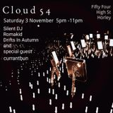 Drifts in Autumn - Cloud 54 - 03/11/18 @ Fifty Four, Horley