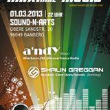 Shaun Greggan live @ MAXimal  Music 01.03.2013 Part II