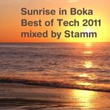 Sunrise in Boka Best of Tech 2011 Mixed by Stamm