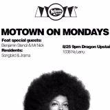 dj mr.nick VS. Benjamin Stencil- Live at Motown on Mondays- August 25th, 2014