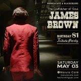 """The Godfather of Soul"" James Brown Birthday Tribute by Héctor Mingues [pt.2] (May 2014)"