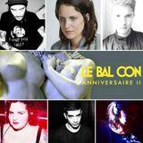 Barbara Butch @Le Bal Con 2ans with Chloé , Maxime Iko and Chaco @ Badaboum Club Paris 1 /01/15