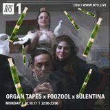 Organ Tapes w/ Foozool & 8ulentina - 2nd October 2017