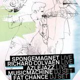 Spongemagnet live + DJ @ Café Central - April 2013